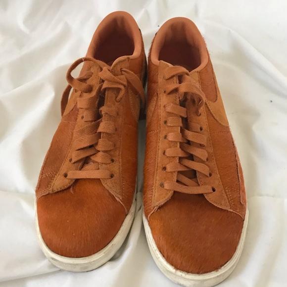Nike Shoes | Nike Pony Hair Sneakers